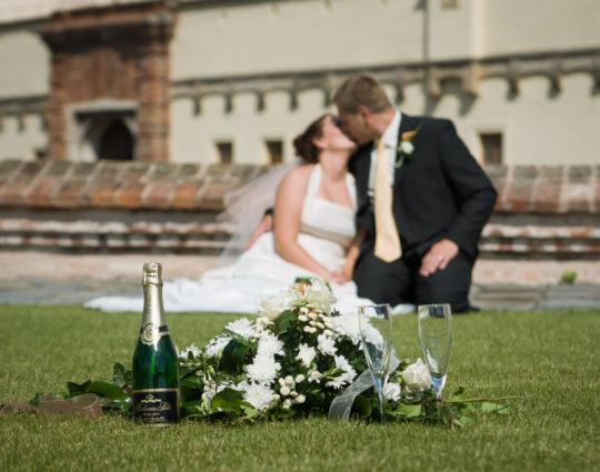 Svatební foto na Špilberku