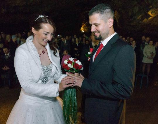 Svatební fotografie Jeskyně Výpustek