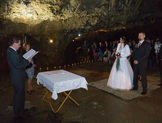 Svatba jeskyně Výpustek