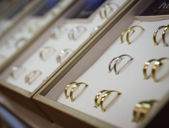 Svatební veletrh a prsteny