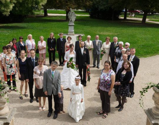 Svatba Letohrádek Mitrovských